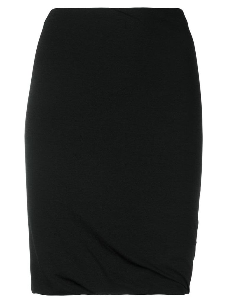 Alexander Wang ruched stretch skirt - Black