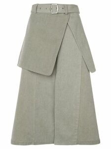 Sies Marjan layered midi skirt - Green