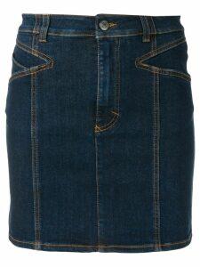 Givenchy denim mini skirt - Blue