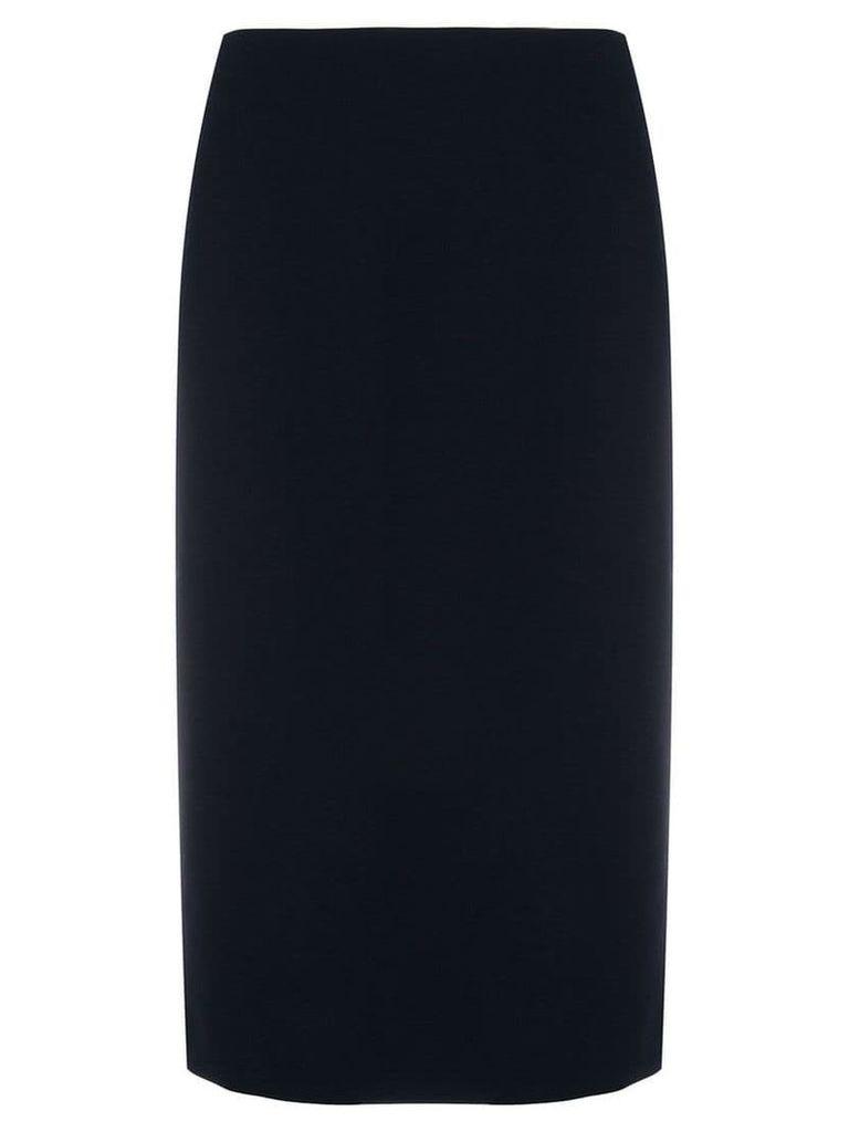 Ralph Lauren mid-length pencil skirt - Blue