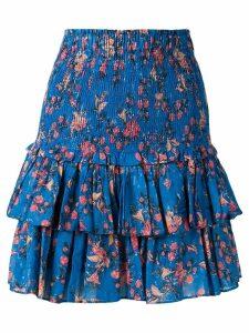 Isabel Marant Étoile floral-print skirt - Blue