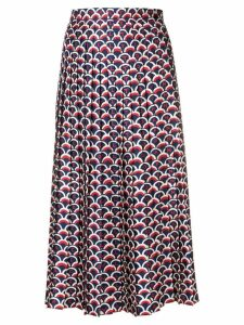 Valentino scale print skirt - Blue