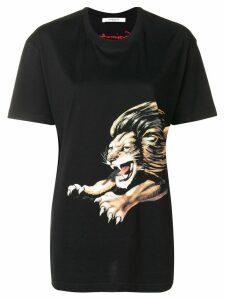 Givenchy Lion print T-shirt - Black