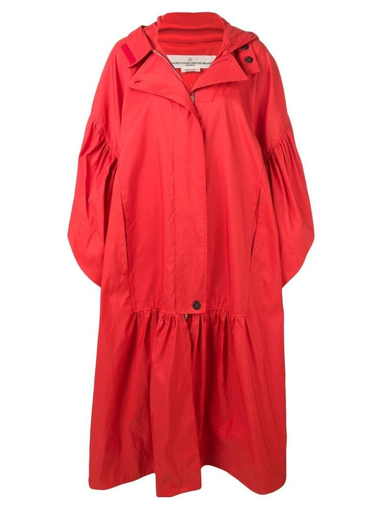 Golden Goose oversized fit parka - Red