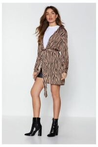 It's Not All Black and White Zebra Jacket