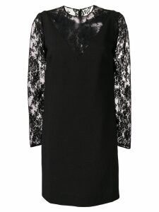 Givenchy mini floral lace dress - Black