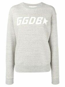 Golden Goose contrast logo sweatshirt - Grey