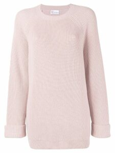 Red Valentino chunky knit jumper - Pink