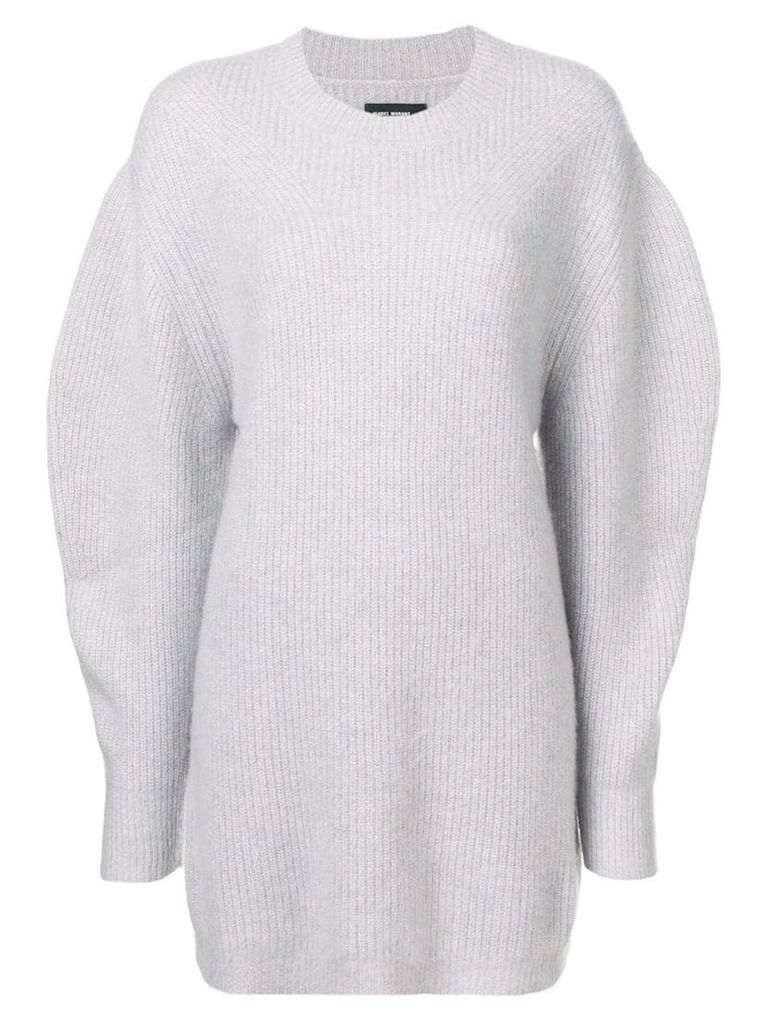 Isabel Marant oversized longline sweater - Grey