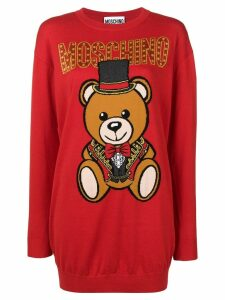 Moschino Teddy Circus sweater - Red