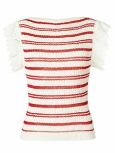 Philosophy Di Lorenzo Serafini ribbed knitted top - Neutrals