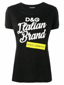 Dolce & Gabbana Italian Brand T-shirt - Black