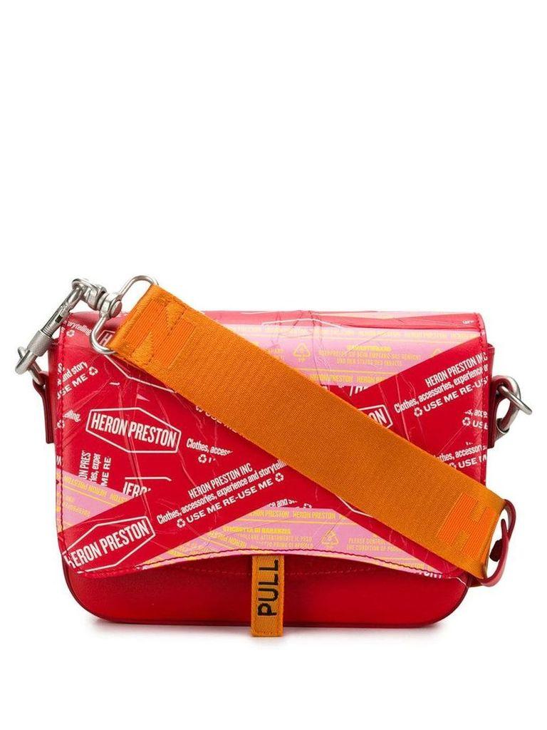 Heron Preston Canal shoulder bag - Red