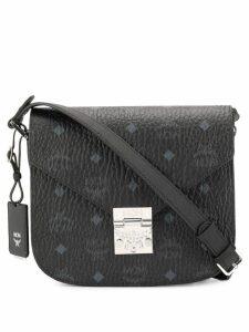 MCM monogram shoulder bag - Black