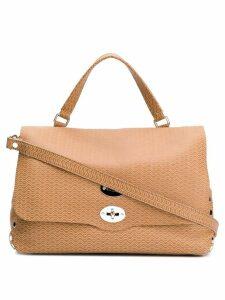 Zanellato Postina tote bag - Brown