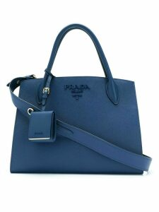 Prada Bibliotheque tote bag - Blue