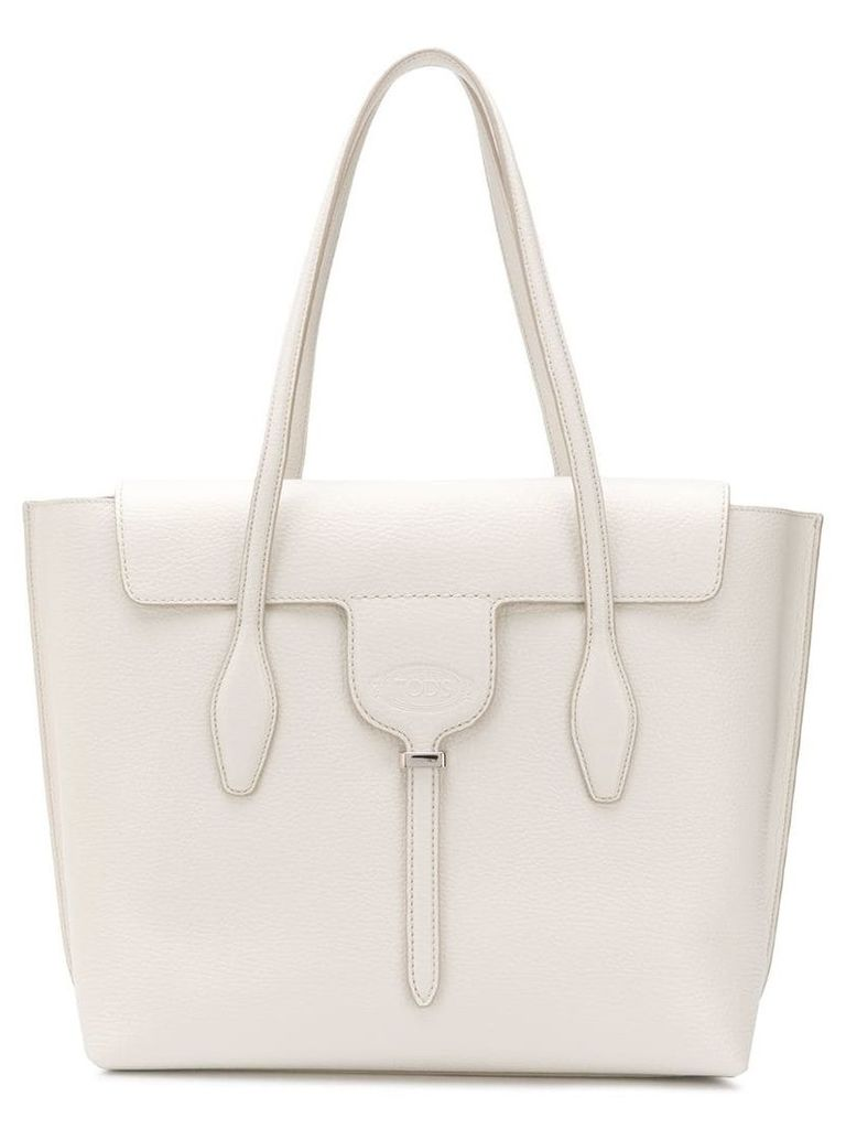Tod's Joy medium tote - White