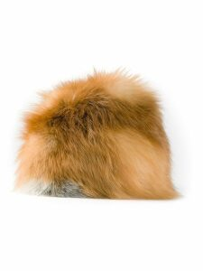 Christian Dior Pre-Owned 1980's fox fur hat - Brown