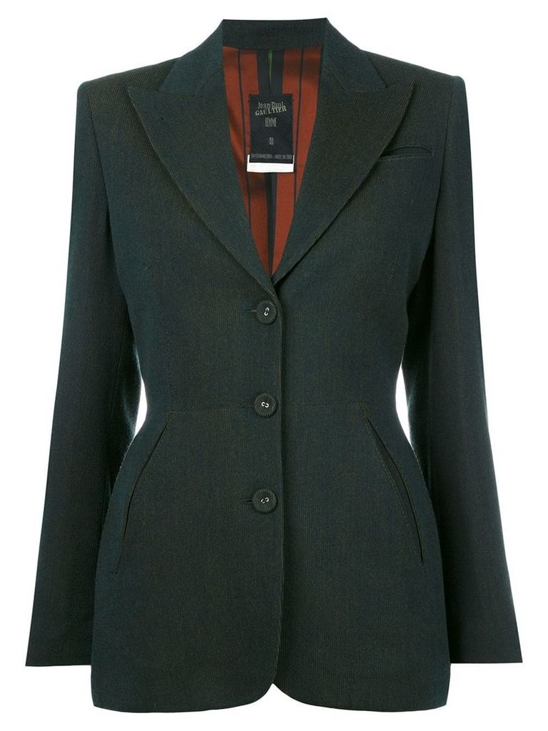 Jean Paul Gaultier Vintage fitted blazer - Green
