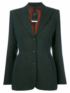 Jean Paul Gaultier Pre-Owned fitted blazer - Green