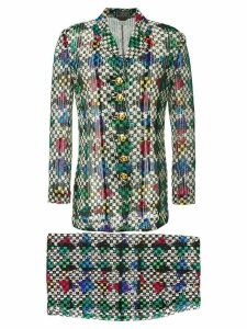 Versace Pre-Owned setup skirt suit - Multicolour
