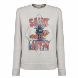 Saint Laurent Robot Sweatshirt