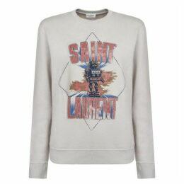 Saint Laurent Robot Sweatshirt