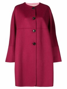Marni single-breasted flared coat