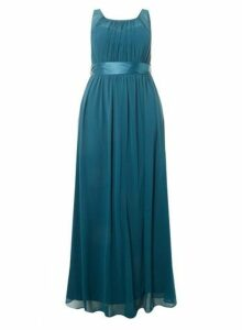 Womens **Showcase Curve Green Natalie Maxi Dress- Green, Green