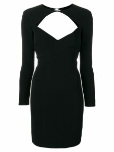 Dsquared2 open back short dress - Black