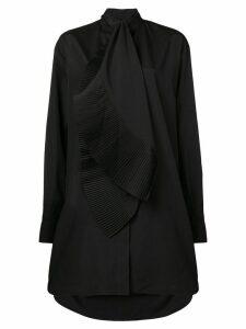 Givenchy asymmetric shirt dress - Black