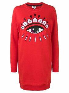 Kenzo Eye sweatshirt dress - Red