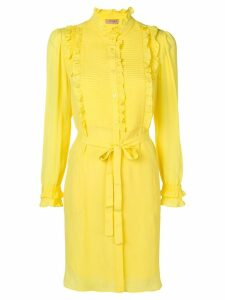 Twin-Set ruffled blouse dress - Yellow