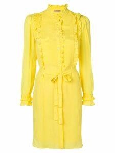 Twin-Set ruffled blouse dress - Yellow
