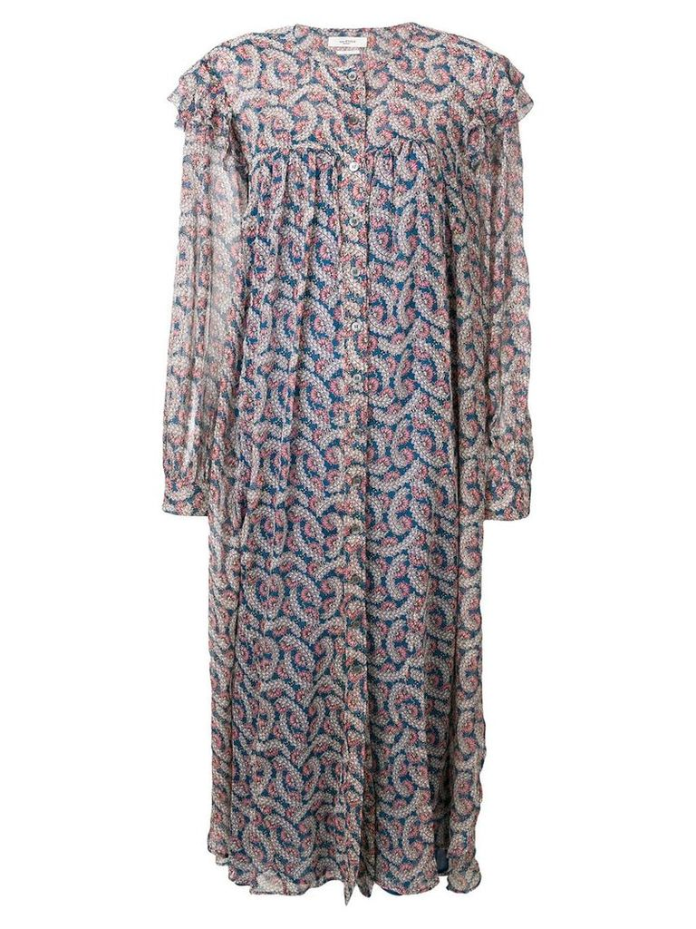 Isabel Marant Étoile floral maxi dress - Blue