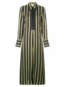 3.1 Phillip Lim striped long shirt jacket - Multicolour