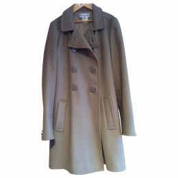 Beige Wool Coat