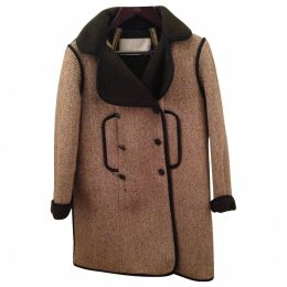 Multicolour Wool Coat