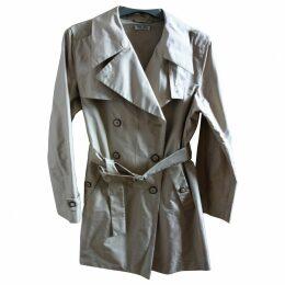 Beige Synthetic Coat