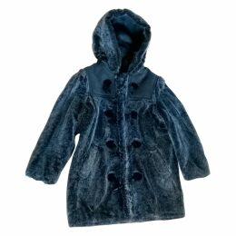 Grey Faux fur Coat