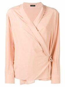 Joseph wrap shirt blouse - Pink