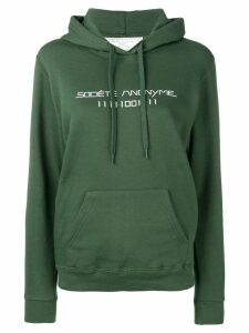 Société Anonyme logo printed hoodie - Green