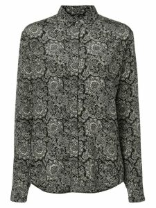 Saint Laurent paisley print shirt - Black
