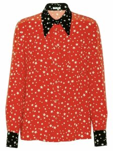 Miu Miu star-print shirt - Red