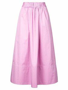 Tibi a-line shape skirt - Pink