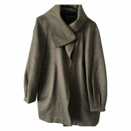 Grey / Black Wool Coat