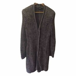 Grey Synthetic Coat