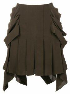Chloé Pleated mini skirt - Green