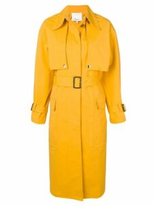 3.1 Phillip Lim belted trench coat - Yellow