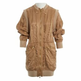 Camel Viscose Coat